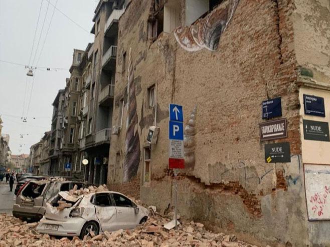 Zagreb pogodio zemljotres - Foto: jutarnji.hr