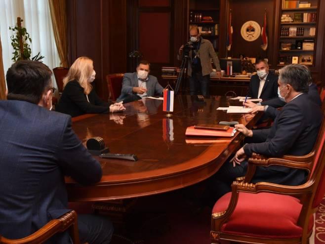 Sjednica Glavnog koordinacionog tima - Foto: RTRS