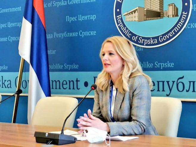 Natalija Trivić  (Foto:twitercom.vlada srpske) - Foto: RTRS