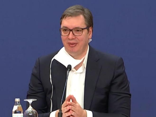 Aleksandar Vučić  (Foto:twitter.com/avucic) -