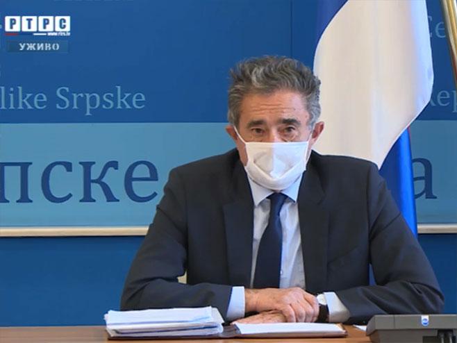 Anton Kasipović, konferencija za novinare - Foto: RTRS