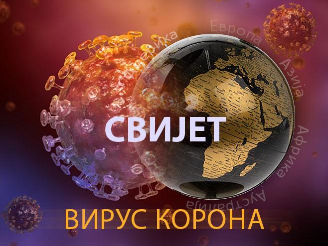 Virus korona u svijetu (Ilustracija RTRS) -