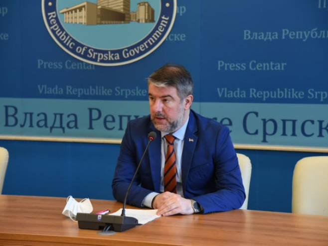 Alen Šeranić (foto:Vlada_Srpske) - Foto: Twitter