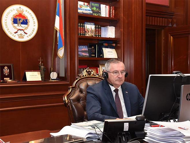 Radovan Višković (foto: facebook.com / VladaRepublikeSrpske) -