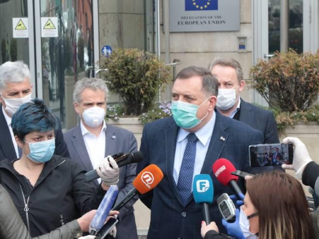 Milorad Dodik (foto: S. Saletović) -