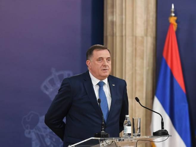 Milorad Dodik (Foto: Predsjedništvo Srbije/Dimitrije Gol) -