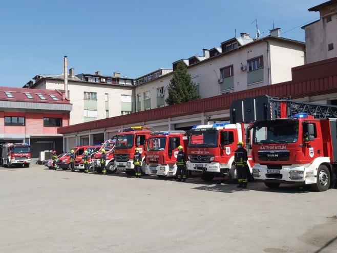 Vatrogasna jedinica Banjaluka - Foto: RTRS