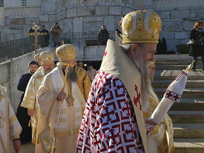 Episkop Joanikije  (Foto: Sputnik / Nebojša Popović) -