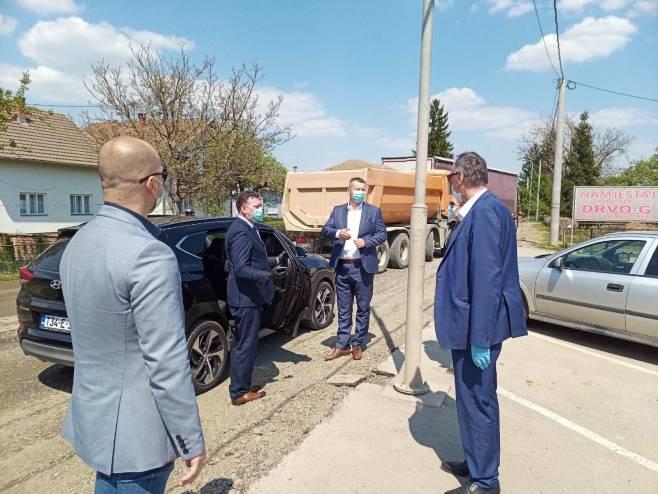 Đorđe Popović i Nenad Nešić - Foto: SRNA