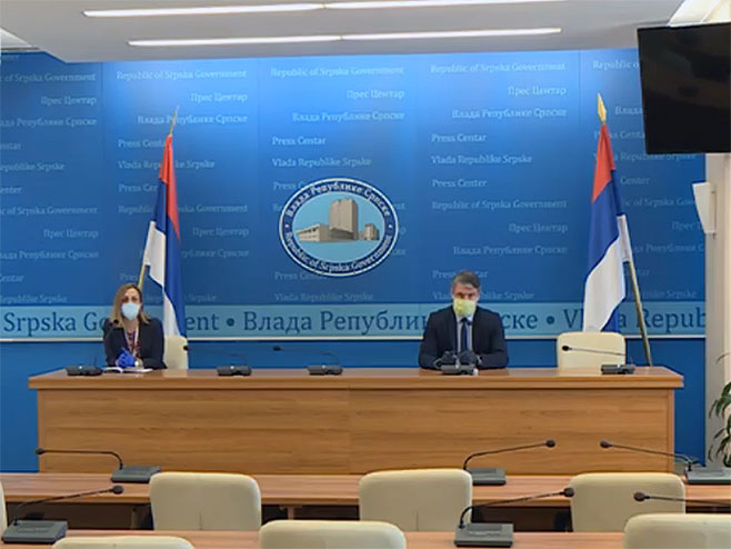 Alen Šeranić, konferencija za novinare - Foto: RTRS