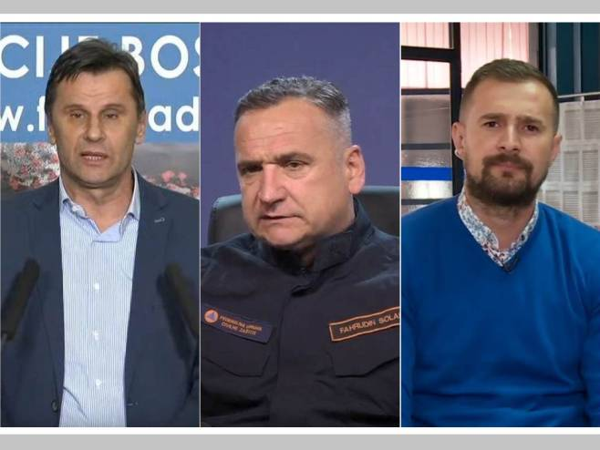Novalić, Solak i Hodžić (foto: ba.n1info.com) -