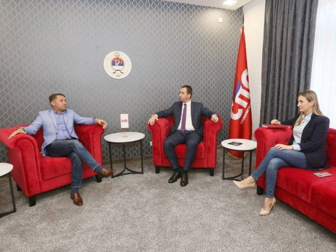 Mladen Bosančić imenovan za šefa Povjereništva SPS Novi Grad - Foto: RTRS