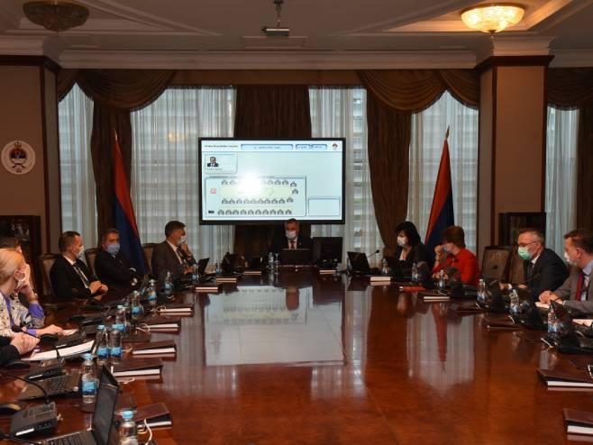 Republički štab za vanredne situacije (Foto: Vlada Republike Srpske) -