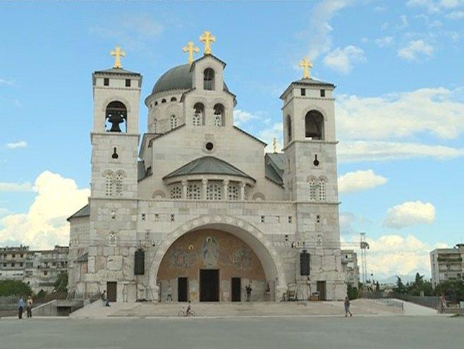 Saborni hram u Podgorici - Foto: RTRS
