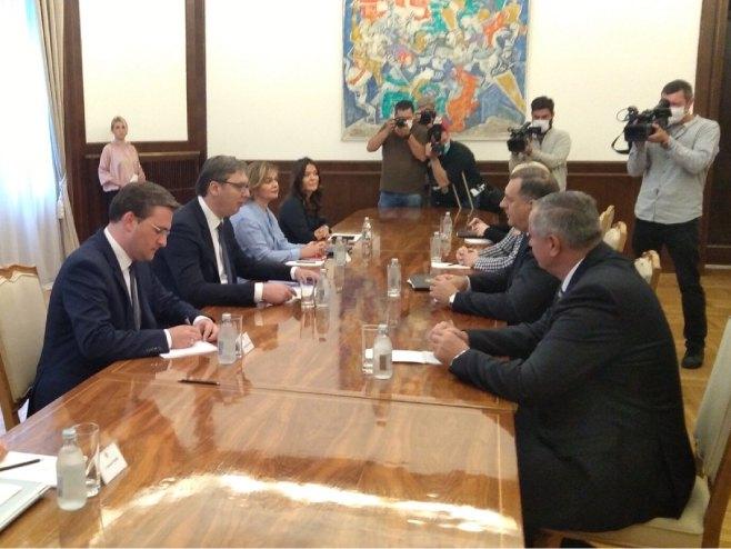 Sastanak u Beogradu - Foto: RTRS