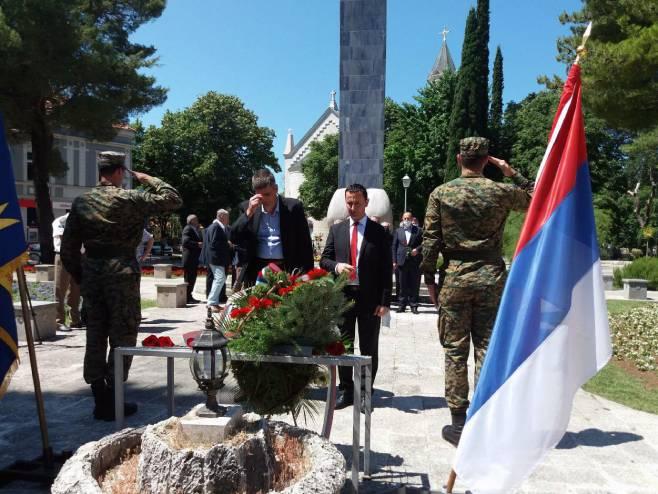 Počast braniocima Trebinja - Foto: SRNA