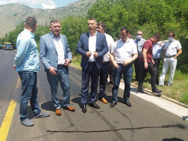 Trebinje - Nešić, Popović i Ćurić - Foto: SRNA