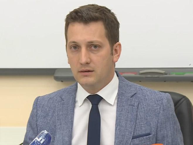 Branislav Zeljković, konferencija za novinare - Foto: RTRS