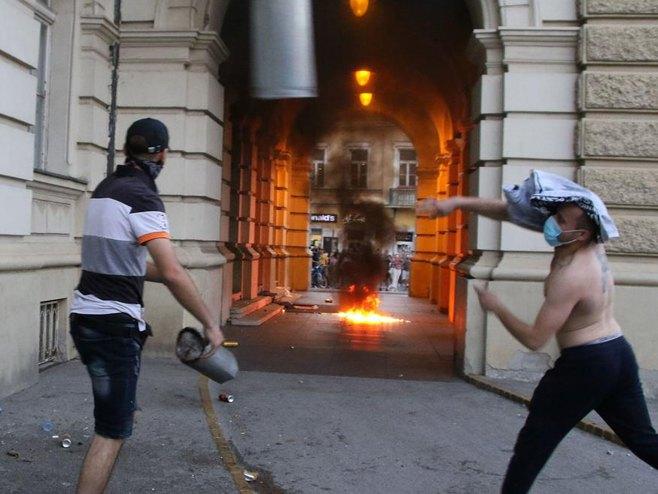 Beograd: protesti (foto:Tanjug/Jaroslav Pap) -