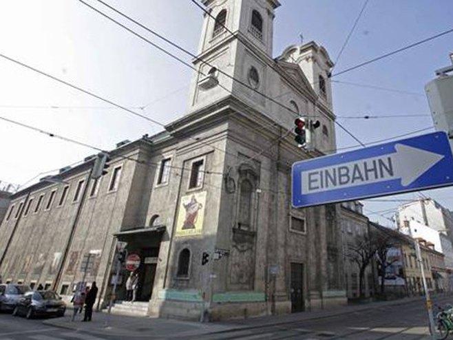 Beč - crkva Svetog Save - Foto: RTS