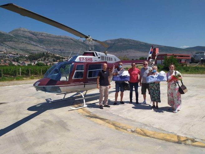 Trebinje - Helikopterski servis Republike Srpske - Foto: SRNA