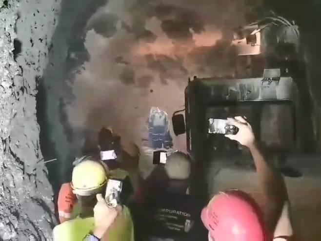 Proboj tunela - Foto: RTRS