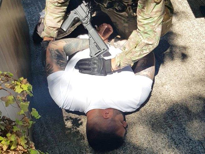 Hapšenje Siniše Šakića (Foto: MUP Srpske) -