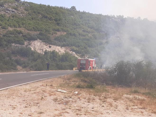 Hercegovina - požar - Foto: RTRS