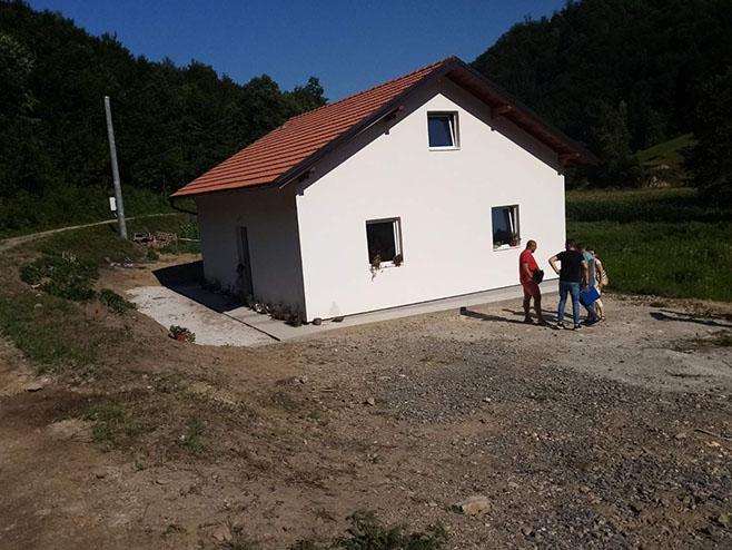 Kuća za dječaka Dejana Zorića - Foto: SRNA
