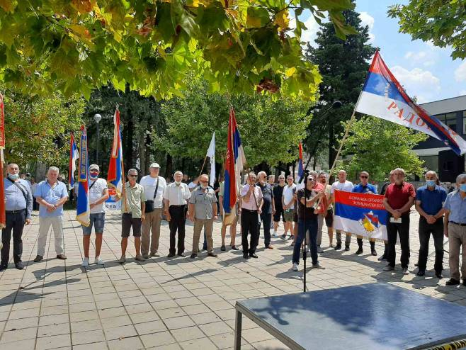 "Trebinje: Mirni protest ""Pet do dvanaest"" - Foto: RTRS"