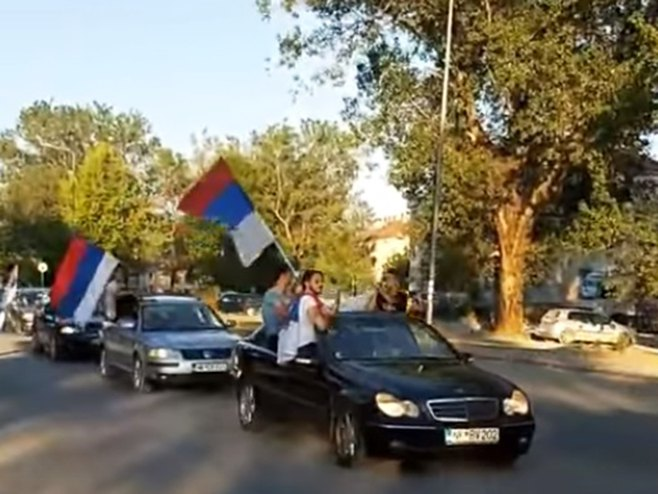 "Nikšić: ""Auto-litija"" - Foto: Screenshot/YouTube"