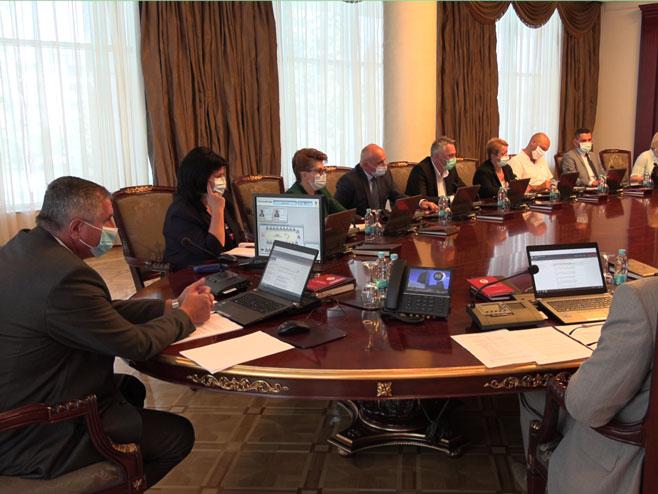 Sjednica Republičkog štaba - Foto: RTRS