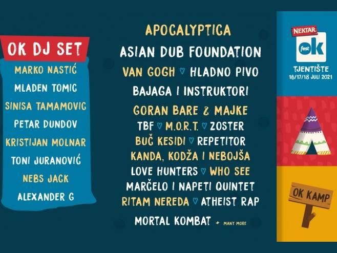 OK Fest, Tjentište 2021. (foto: www.okfest.net) -
