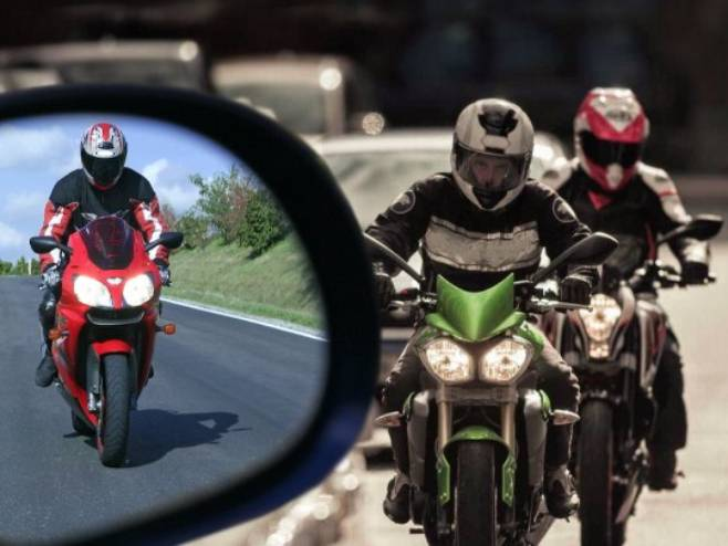 Motociklista - Foto: RTRS