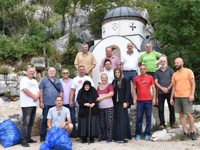 Obavljeno čišćenje Korićke jame - Foto: RTRS
