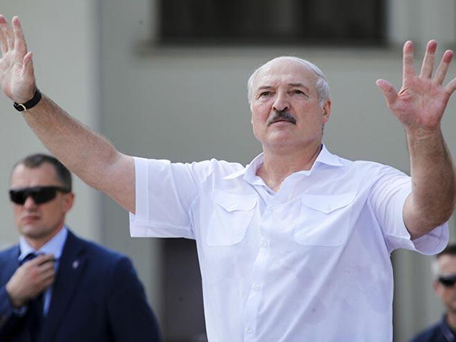 Aleksandar Lukašenko (Foto: AP/Dmitri Lovetsky) -