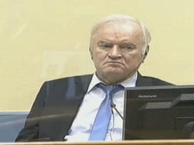 Ratko Mladić - Foto: RTRS