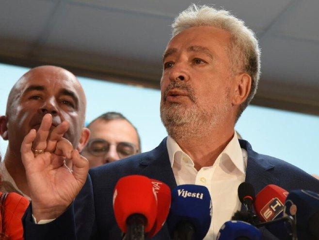 Zdravko Krivokpić (Foto: Luka Zeković/vijesti.me) -