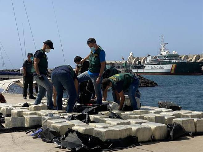 Zapljena kokaina (foto: Guardia Civil) -