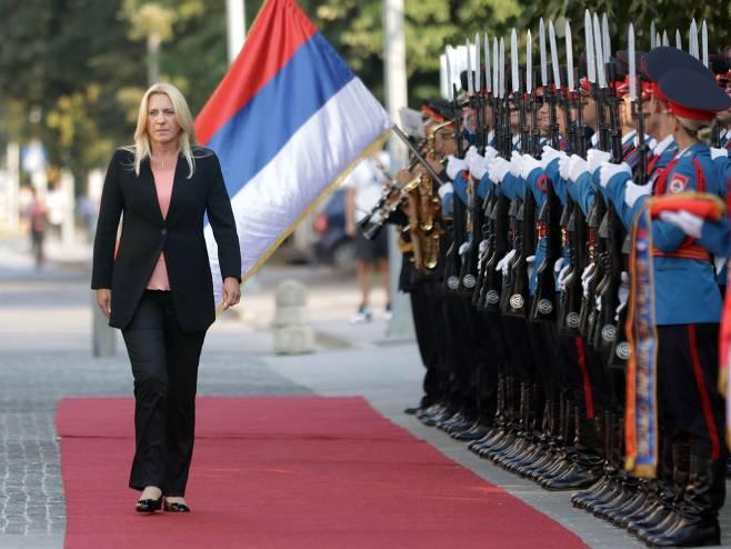 Željka Cvijanović (foto: instagram.com/zeljka.cvijanovic) - Foto: RTRS