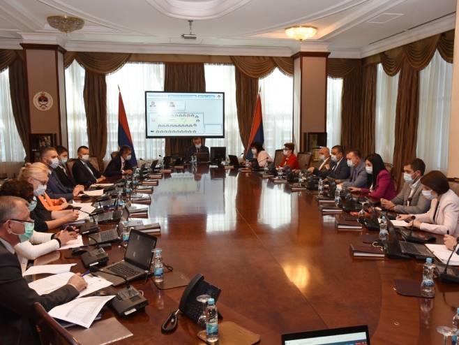 Sjednica Republičkog štaba za vanredne situacije, Foto: Vlada Republike Srpske Twitter -