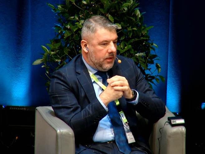 Alen Šeranić na Samitu u Salcburgu - Foto: Screenshot