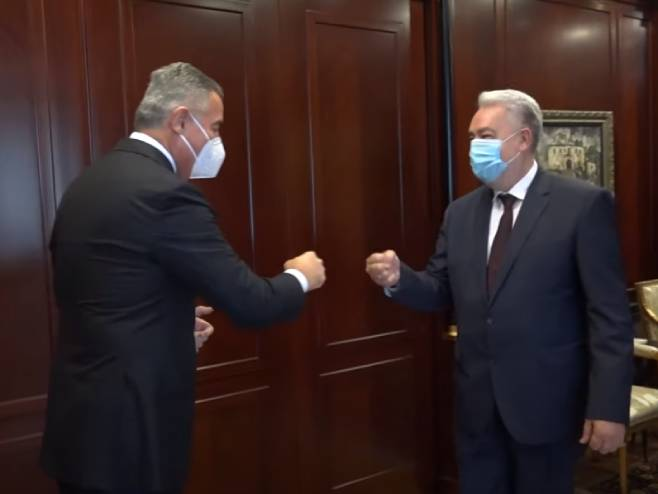 Đukanović i Krivokapić - Foto: Screenshot/YouTube
