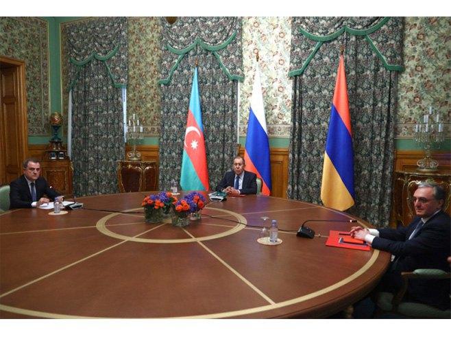 Postignut sporazum o prekidu vatre u Nagorno Karabahu (foto:Russia Foreign Ministry) -