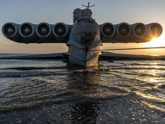 """Sovjetski ekranoplan """"Kaspijsko čudovište"""" (foto:Lana Sator/WENN) -"""