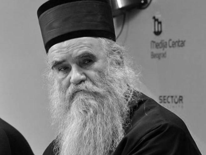 Mitropolit Amfilohije (Foto: Medija centar Beograd) -