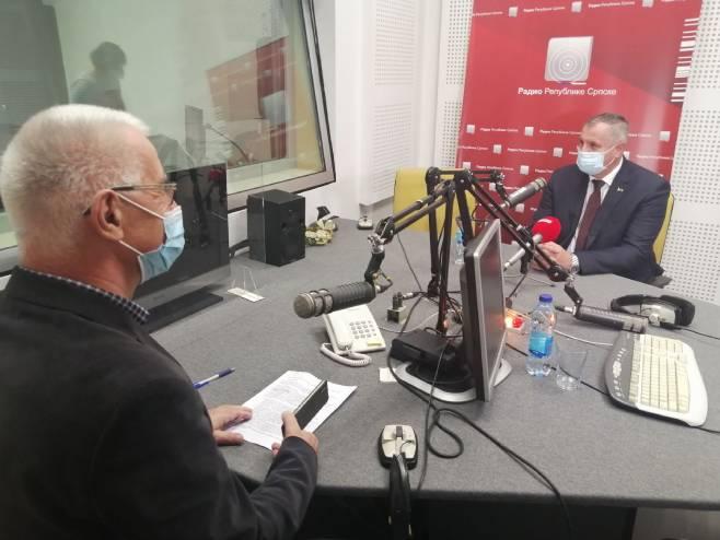Višković u emisiji Otvoreno rečeno - Foto: RTRS
