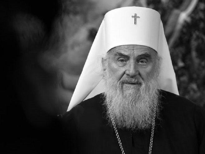 Patrijarh Irinej (Foto:Nemanja Jovanović)) -
