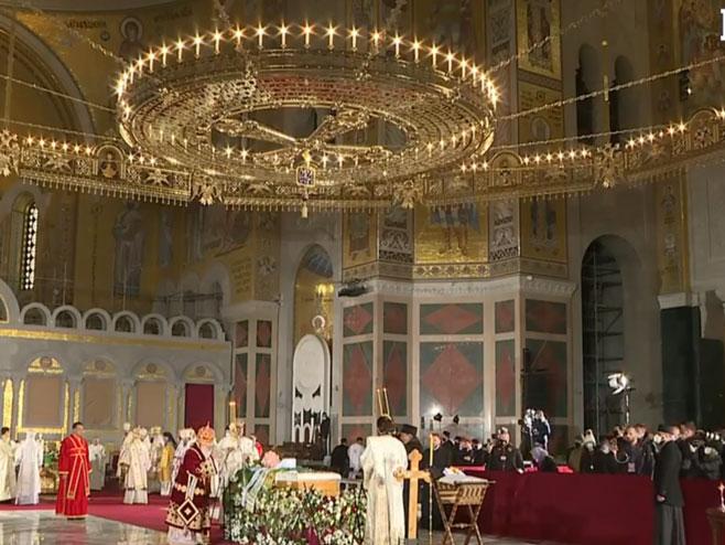 Liturgija za upokojenog Patrijrha - Foto: Screenshot