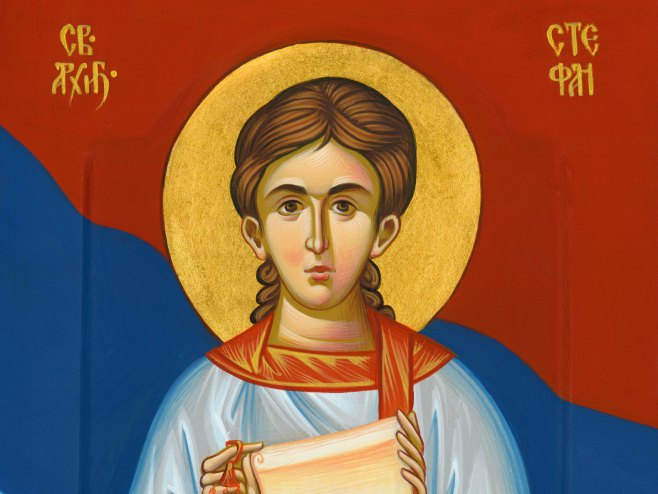 Ikonopisac Jelena Popović izradila ikonu za Dan Republike - Foto: SRNA